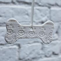 Dog bone Christmas decoration