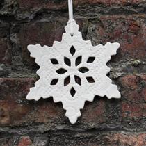 Large snowflake decoration