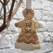 Large Gingerbread lady decoration