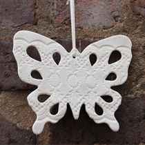 Large butterfly decoration