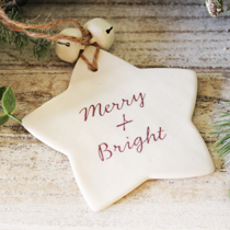Star Merry and Bright decoration
