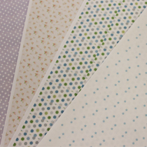 Sticker sheets with polkadots, florals and stars