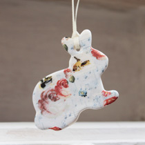 Bunny hanging decoration