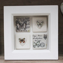 Butterfly small tile frame
