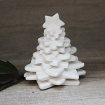 Small lace Christmas tree