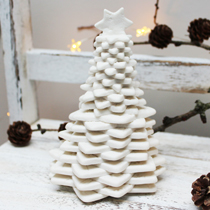 Large lace Christmas tree