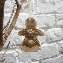 Small Gingerbread lady decoration